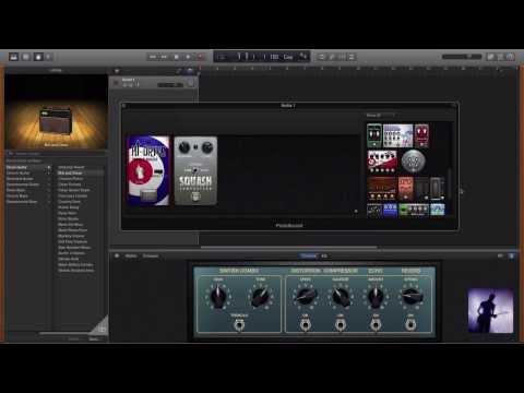 New GarageBand (10.0) vs Logic Pro X – Recording Guitars