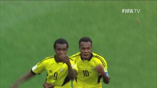 Watch highlights of the match between Vanuatu and Mexico from the FIFA U-20 World Cup in Korea Republic.
