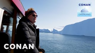 Conan Buys Waterfront Property In Greenland - CONAN on TBS