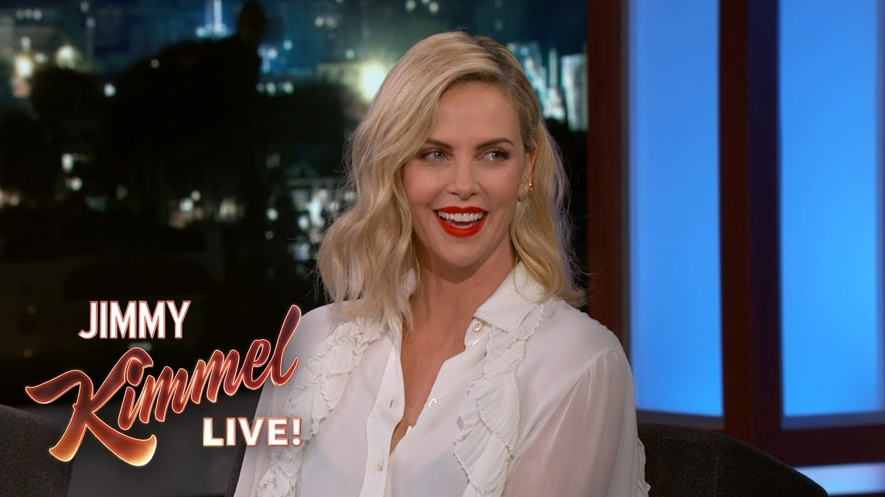 Charlize Theron is a NASCAR Fan
