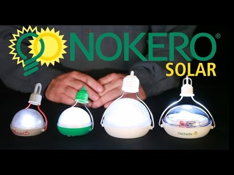 Nokero Solar products