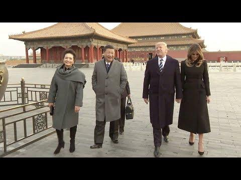شاهد.. الفيديو الذي أحرج به ترامب الرئيس الصيني بسبب مصر