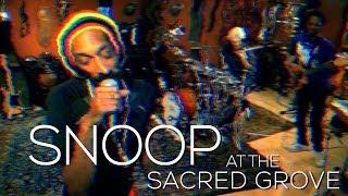 Snoop at the Sacred Grove - TEN Remix w/Snoop Lion Stewart Copeland Armand Sabal-Lecco