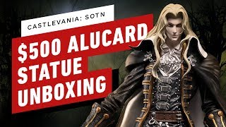 Castlevania: Symphony of the Night Alucard Twilight Edition Statue Unboxing by IGN