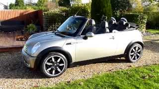 Review Of 2008 Mini Cooper Sidewalk 1.6 Convertible For Sale SDSC Specialist Cars Cambridge