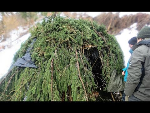 Extreme Survival Course with Snow and no Sleeping Gear