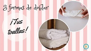 Si tu también tienes tus toallas desordenadas en el cuarto de baño, ¡no te preocupes! En Tuiris, te traemos tres formas muy sencillas y rápidas que te ayudarán a terminar con este problema.¡Dale al play y no te pierdas ni un detalle del vídeo!COMPARTE EL VIDEO CON TODOS TUS AMIGOS Y NO OLVIDES SUSCRIBIRTE! bit.ly/TuirisYT♥CONTACTO - QueOnda@tuiris.com♥PÁGINA  - http://www.tuiris.com♥FACEBOOK: bit.ly/TuirisFB♥TWITTER: bit.ly/TuirisTweet♥INSTAGRAM : bit.ly/TuirisInsta