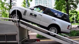 Range Rover Test Drive