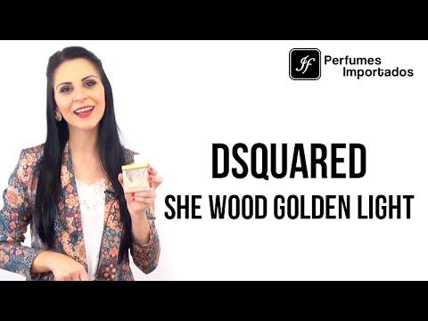 Perfume Dsquared² She Wood Golden Light Feminino - Eau de Parfum