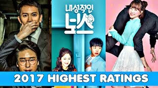 Video 10 Most Highly Rated Korean Drama of 2017 MP3, 3GP, MP4, WEBM, AVI, FLV April 2018