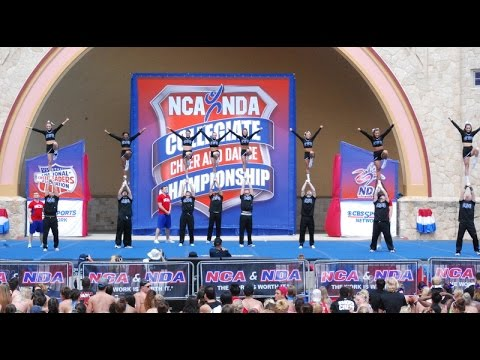 Columbus State Cheer at NCA Nationals