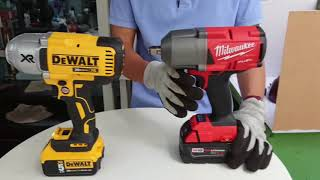 DEWALT DCF899 VS MILWAUKEE 2767-20