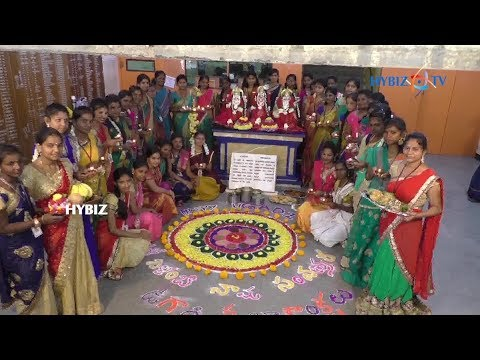 , Ugadi Celebrations kanyaka parameswari college