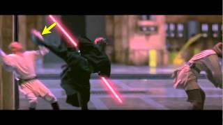 """Some say there is a fight scene at the end of """"The Phantom Menace""""... Voice: Daniel (UK) from..."""