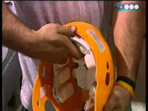 Как сделать шлем для американского футбола