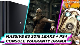 Massive E3 games leaked, the PS4 warranty drama and more in our weekly news roundup