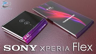 Sony Xperia Flex ,the Foldable Smartphone Concept Introduction | Techconfigurations