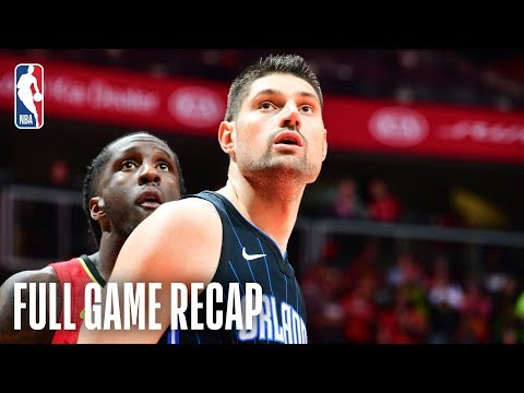 Video: MAGIC vs HAWKS | 7 In Double Figures For ORL | February 10, 2019