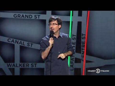 John Oliver Stand-up Comedy - I am not Funny, Maybe Jewish & Definitely a Smirf