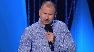 Skecz, kabaret = Wojtek Fiedorczuk - Stand Up (XVIII Mazurska Noc Kabaretowa 2016)