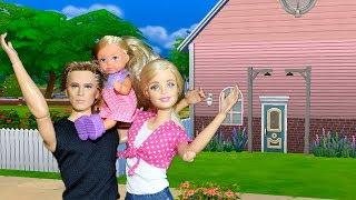 ТУР ПО ДОМУ БАРБИ . Строим дом в СИМС 4 (Sims 4)