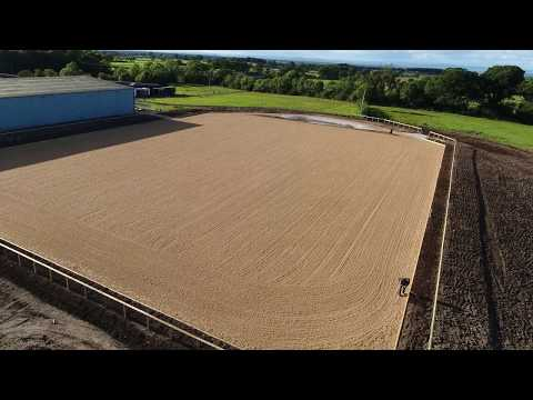 Greenlands Full build outdoor arena