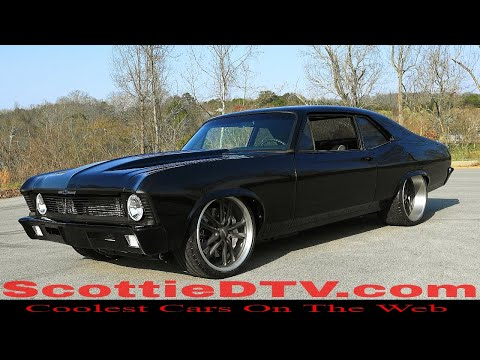 1970 Chevrolet Nova Street Machine Pro Auto Custom Interiors by Steve Holcomb