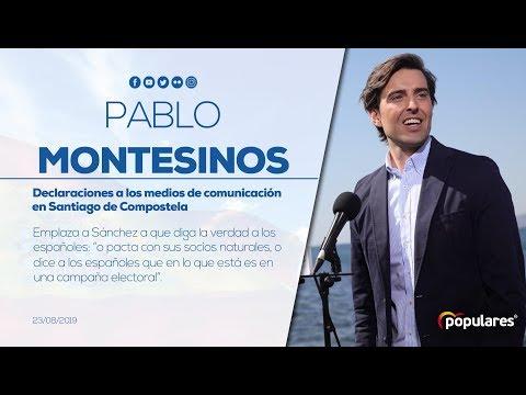 Montesinos emplaza a Sánchez a que diga la verdad a los españoles