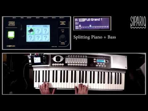 Sipario: splitting sounds