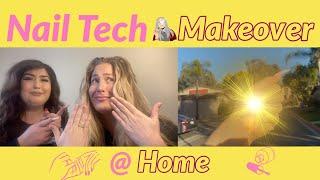 Meet My Nail Tech (@ my house!) by Joya G