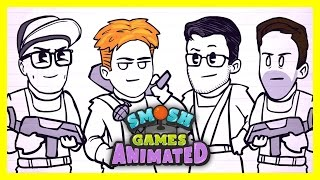 SPACE ZOMBIE ATTACK (Smosh Games Animated)