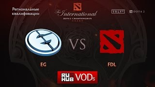 Evil Geniuses vs FDL, game 1