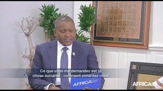 L'INTERVIEW - Aliko Dangote - Nigéria