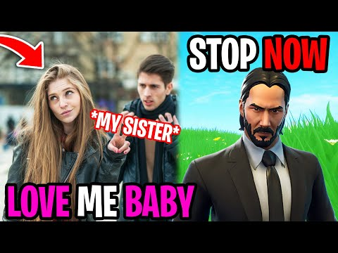 He Tried Dating My Sister - Fortnite