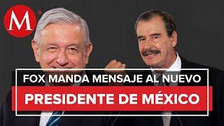 Mensaje de Vicente Fox para Andrés Manuel López Obrador /Fox Populi