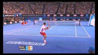 Tennis Highlights, Video - Australian Open Tennis Championships 2014 Highlights | Stanislas Wawrinka and Rafael Nadal