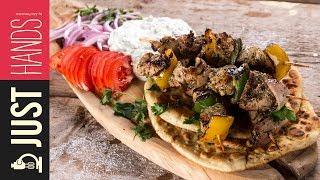 Pork Souvlaki | Akis Kitchen by Akis Kitchen
