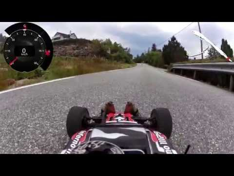 Kyosho - Kyosho Inferno MP9 TKI3 with Garmin Virb I think this car can come up to 70 Km/h ;)