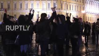 Russia: St. Petersburg mourns Sinai plane crash victims one year on