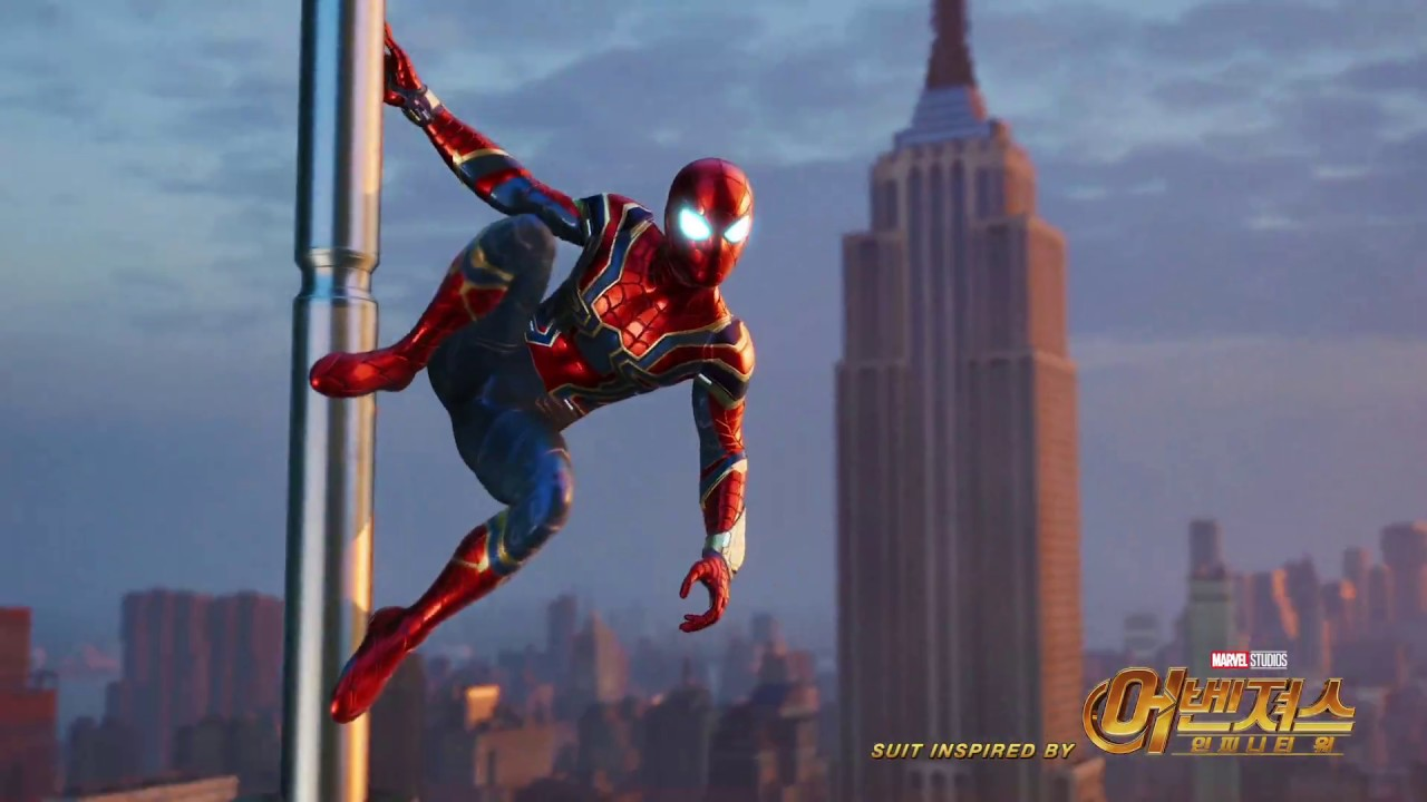 PS4™용 Marvel's Spider-Man '아이언 슈트'