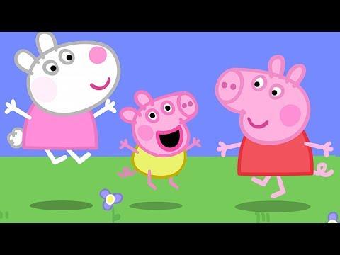 Peppa Pig Świnka Peppa po Polsku  Świnka Dzidzia !  Bajki Po Polsku