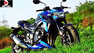 10. Suzuki GSXS-750 First Ride Review, Walkaround, Exhaust note #Bikes@Dinos