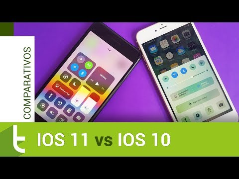 Apple iOS 11 vs iOS 10  Comparativo do TudoCelular