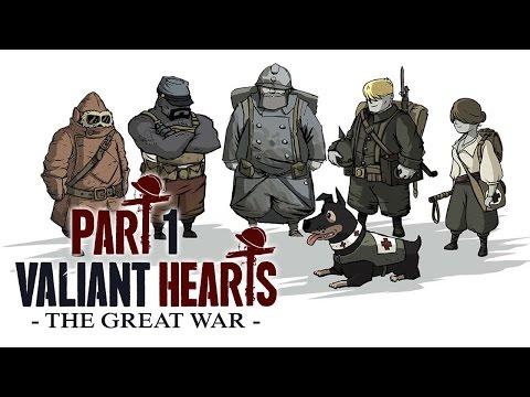 Прохождение Valiant Heart: The Great War [Ep.1] - Ужасы Первой Мировой.