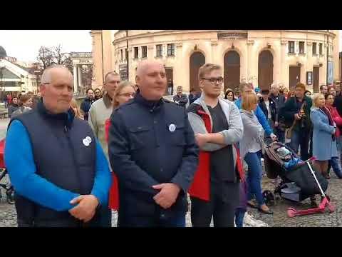 V Spišskej sa opäť protestovalo: VIDEO z miesta zhromaždenia