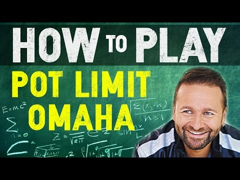 Pot Limit Omaha Playing Instructions