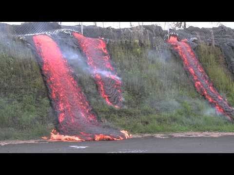 Lava Flow at hawaii