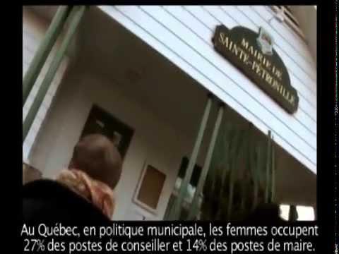 L'École francophone des candidates - Stratégie et défis du pouvoir - QUÉBEC - Extrait