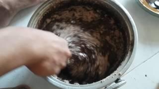 Cara membuat coklat pasta untuk isian roti