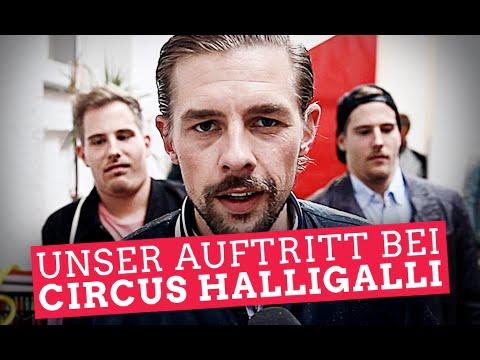 im - Habt ihr unseren Auftritt gesehen? Gebt uns Feedback via DAUMEN HOCH und Kommentar! Unser Auftritt bei Circus HalliGalli hat ganz Deutschland bewegt. Heute seht ihr das komplette Backstage-Mat...